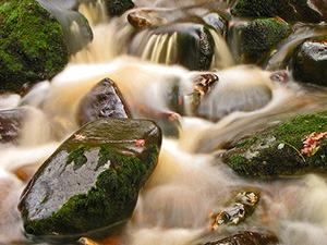 Урок за начинаещи : движеща се вода