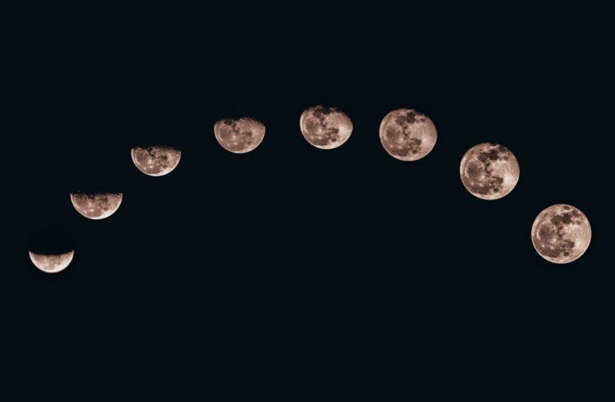 Предизвикателствата на лунната фотография
